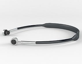 Bluetooth earphone 3D model
