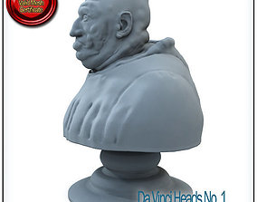 Da Vinci Heads No 1 STL Printable