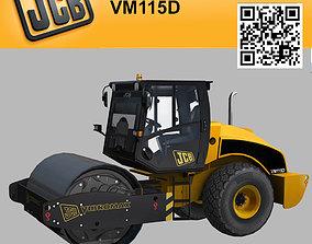 3D asset Compactor JCB Vibromax VM115 2012