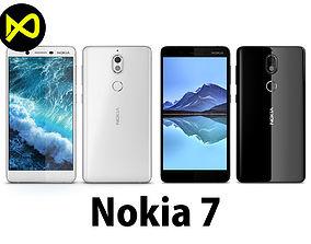 Nokia 7 Black And White 3D