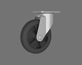 3D model Caster weel