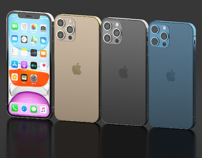 3D model Iphone 12 Pro All colors