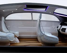 Autonomous Concept Car 3D model animated