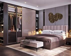 Master bedroom modern 3D model