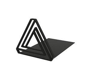 Bookend 3D printable model symbol
