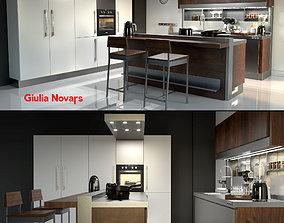 Kitchen Giulia Novars 3D model