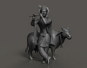 spritual 3D printable model Lord krishna