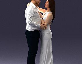 Wedding couple 0105 3D