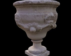 Decorative Outdoor Vase 3D model