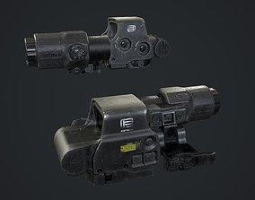 HOLO XPS3 with G33 MAGNIFIER 3D asset