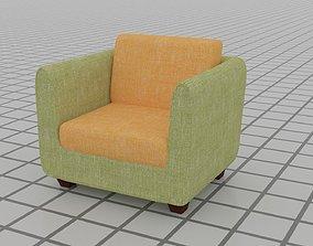 3D printable model Single Sofa