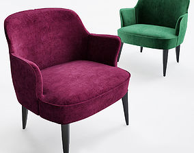 Chair Febo Maxalto 3d model febo