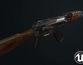 AK-47 3D asset low-poly PBR