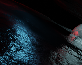Sci-fi Outer Space 3D model