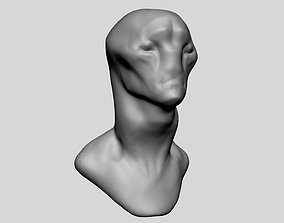 Creature Head Base 3D