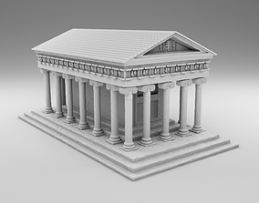 Greek Temple 3D print model