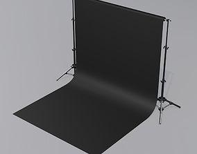 backdrop 3D model
