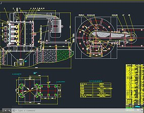 3D PCL750-4 VERTICAL CRUSHER COMPLETE DRAWING