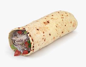 Shawarma 3D model