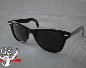 Rayban Wayfarer Sunglasses 3D model