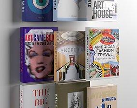 Books 02 3D model cover