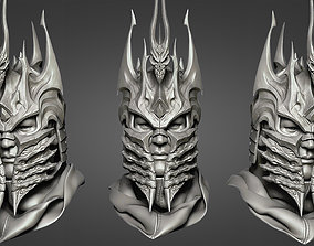Lich King - Helmet 3D printable model