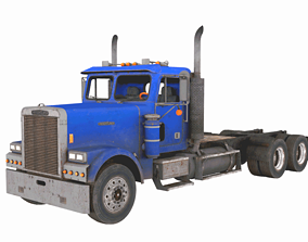 Truck Freight-liner FLD 120 3D model