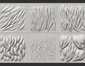 Fur and Beasts VDM brush for Zbrush 3D model