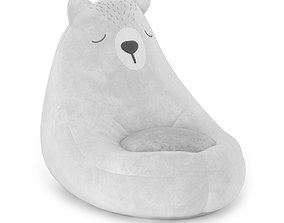 Armchair bag Bear 3D model