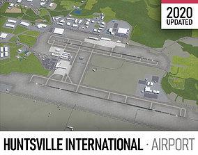 Huntsville International Airport - HSV 3D asset