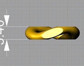 cuban chain necklace or bracelet new model 3D print 3