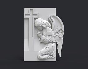 3D printable model Praying Angel Tombstone