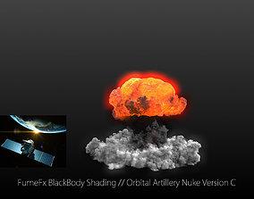 3D model FumeFx Nuclear Explosion Asset