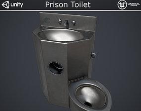 3D model Prison Toilet