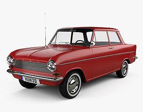 Opel Kadett 1962 3D