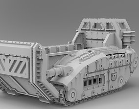 WoWBuildings Raptor Troop Carrier 3D printable model
