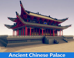 The ancient Chinese palace 3D
