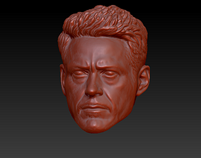 ironman Head Tony Stark 3D print model
