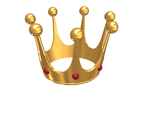 3D printable model Crown