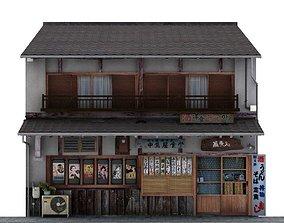 Shiga Restaurant 3D model