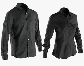 3D Mens and Womens Shirts Collection 1