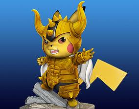 Pikachu Knight of the Zodiac Aldebaran 3D print model
