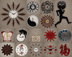 Wall Clocks decoration 3D model