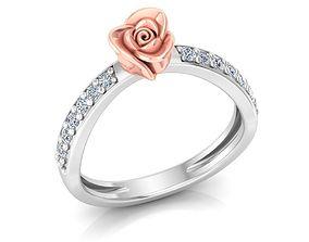 3D printable model Rose Ring 21