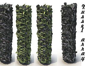 Mussel array 3D