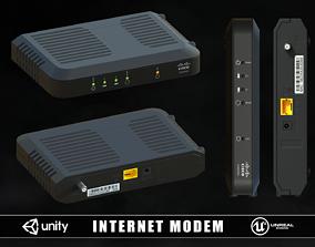Internet Modem 3D model