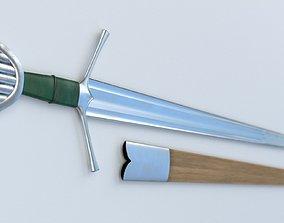 Caithness Sword and Scabbard 3D asset