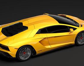 Lamborghini Aventador S 2018 3D