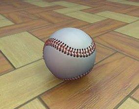Baseball League Ball 3D asset