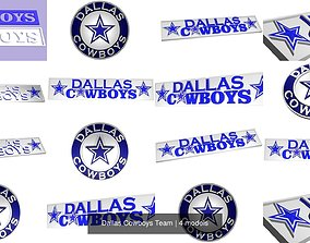 dallascowboys Dallas Cowboys Team 3D model